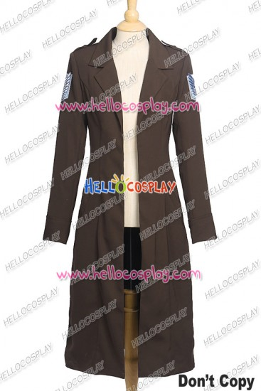 Attack On Titan Shingeki No Kyojin Cosplay Levi Ackerman Costume