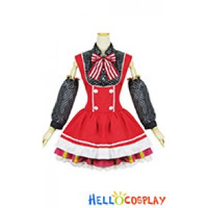 Love Live Cosplay Maki Nishikino Maid Dress
