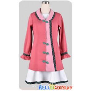 Touhou Project Cosplay Kyouko Kasodani China Buckle Pink Dress Costume