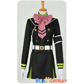 Seraph Of The End Cosplay Shinoa Hiragi Costume