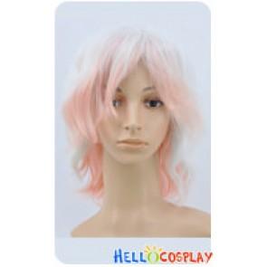 Diabolik Lovers Cosplay Subaru Sakamaki Pink White Gradual Change Wig