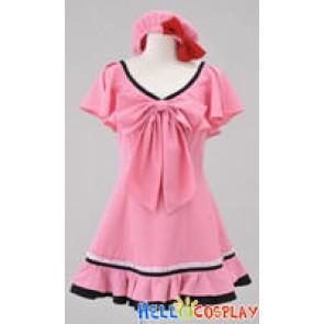 Macross Frontier The False Songstress Ranka Lee Pink Dress