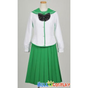 Highschool Of The Dead Cosplay Saeko Busujima Uniform
