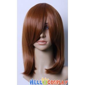 Dark Sienna 45cm Cosplay Straight Wig