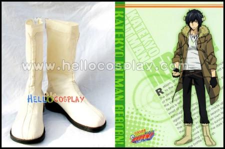 Katekyo Hitman Reborn Cosplay Lambo 20 Years Later Boots