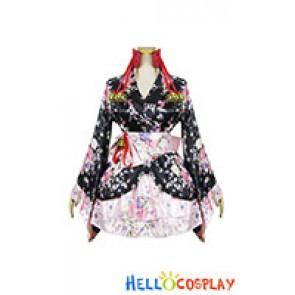 Lolita Cosplay Sakura Kimono Dress