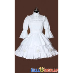 Black Butler Cosplay Queen Victoria Dress