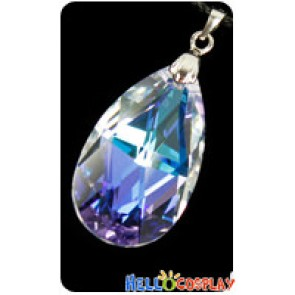 Sword Art Online Cosplay Asuna Yuuki Heart Of Yui Crystal Necklace Accessories