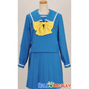 Tokimeki Memorial 4 Cosplay Blue Girl Uniform