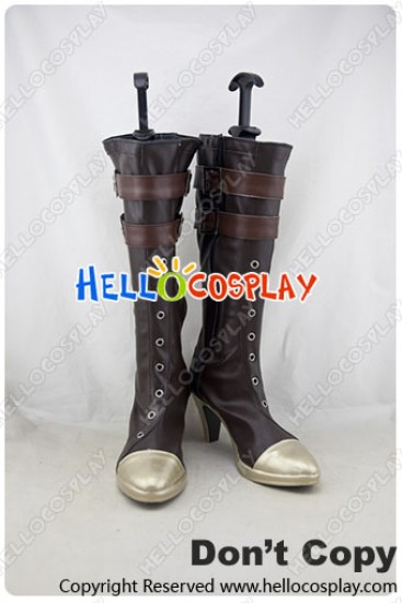 League Of Legends Cosplay Shoes Caitlyn Boots