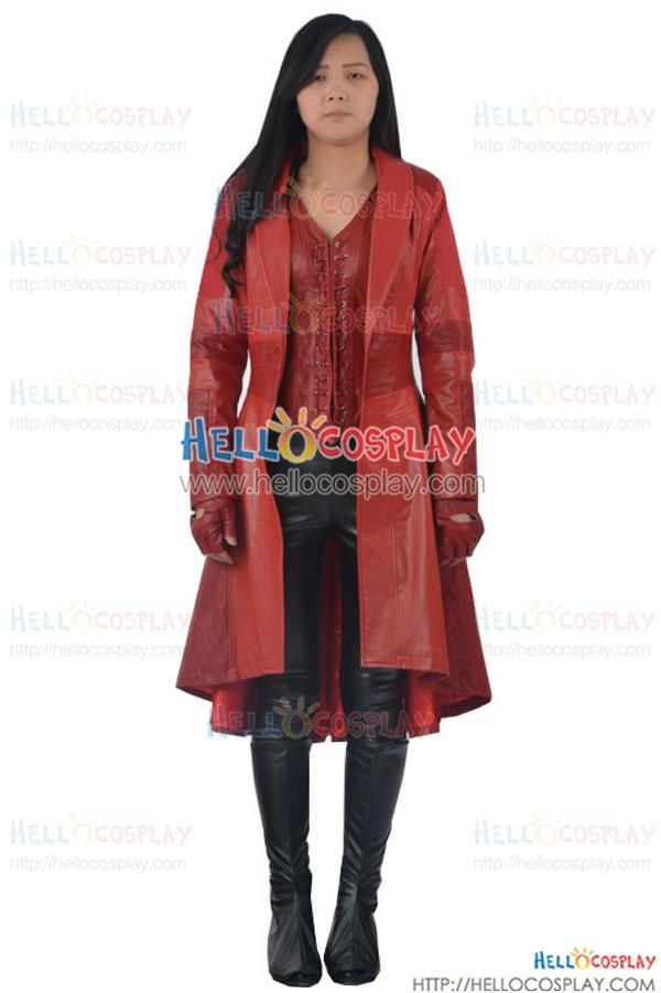 Captain America 3 Civil War cosplay Kostüm Scarlet Witch Wanda Django Maximoff