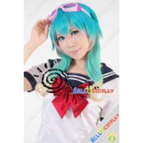 Vocaloid Cosplay Gumi Green Short Wig