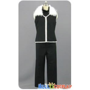 Fullmetal Alchemist Cosplay Greed Black Uniform Costume