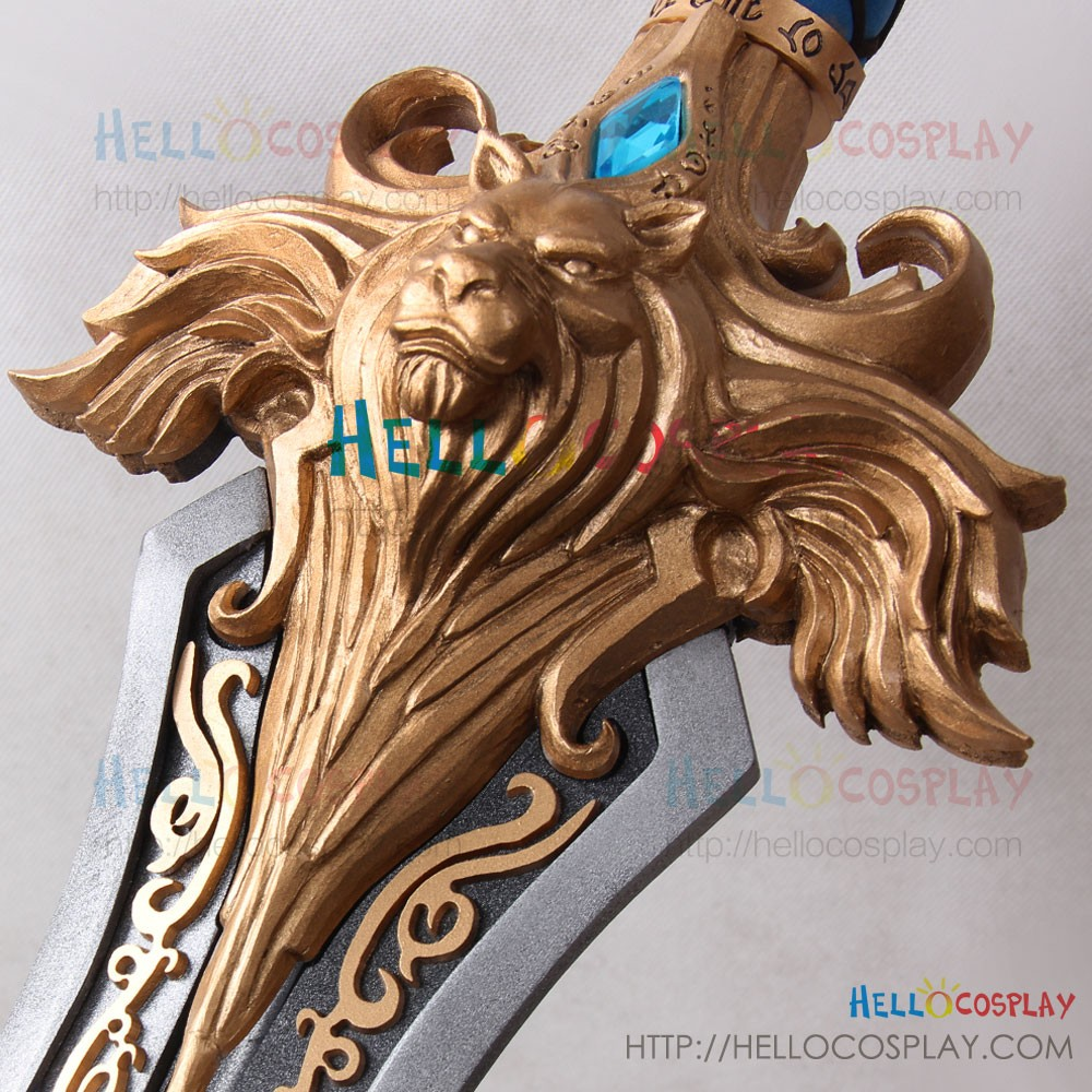 World Of Warcraft Wow Cosplay Varian Wrynn High King Of The