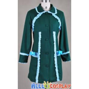 Lolita A-Line Green Coat Classic Version