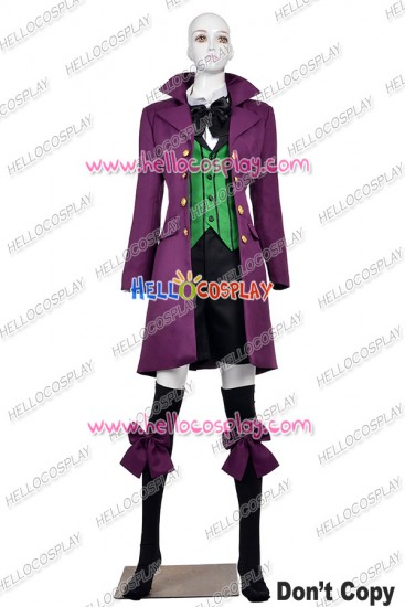 Black Butler Kuroshitsuji 2 II Cosplay Earl Alois Trancy Costume Uniform