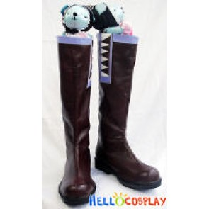 Vocaloid 2 Cosplay Kagamine Len Brown Boots