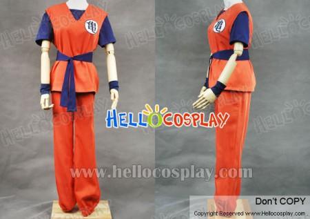 DBZ Dragon Ball Z Goku Cosplay Costume
