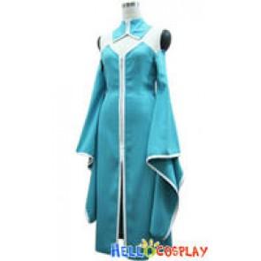 Gundam Seed Cosplay Lacus Clyne Blue Dress
