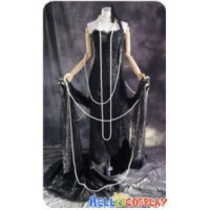 xxxHolic Cosplay Ichihara Yuuko Black Lace Dress Costume