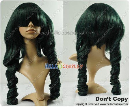 Black Rock Shooter Cosplay Dead Master Curl Wig