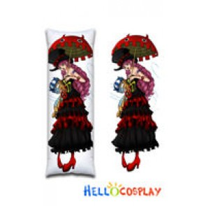 One Piece Cosplay Perona Body Pillow