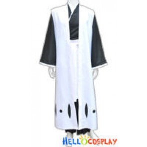 Bleach Ichimaru Gin Cosplay Captain of the 3rd Division Cloak