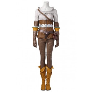 The Witcher 3 Wild Hunt Cirilla Fiona Elen Riannon Ciri Cosplay Costume