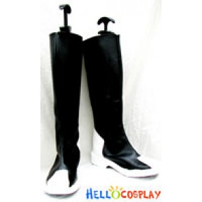 Z.A.F.T Uniform Black Boots From Gundam Seed
