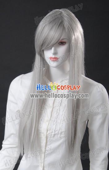Cosplay Silver Grey Medium Wig