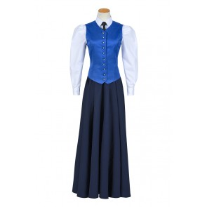 Doctor Series 7 The Crimson Horror Jenny Flint Maid Dress Cosplay Costume