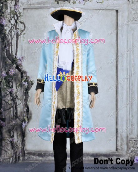 Axis Powers Hetalia APH Cosplay France Francis Bonnefeuille Costume