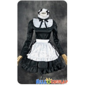 Maid Cosplay White Hairband Maid Dress Costume