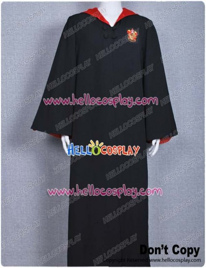 Harry Potter Costume Gryffindor of Hogwarts Robe Cape