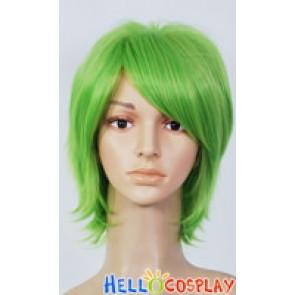 Green Short Wig 006