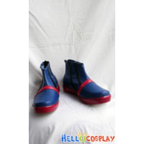 Pokemon Cosplay Silver Shoes Blue