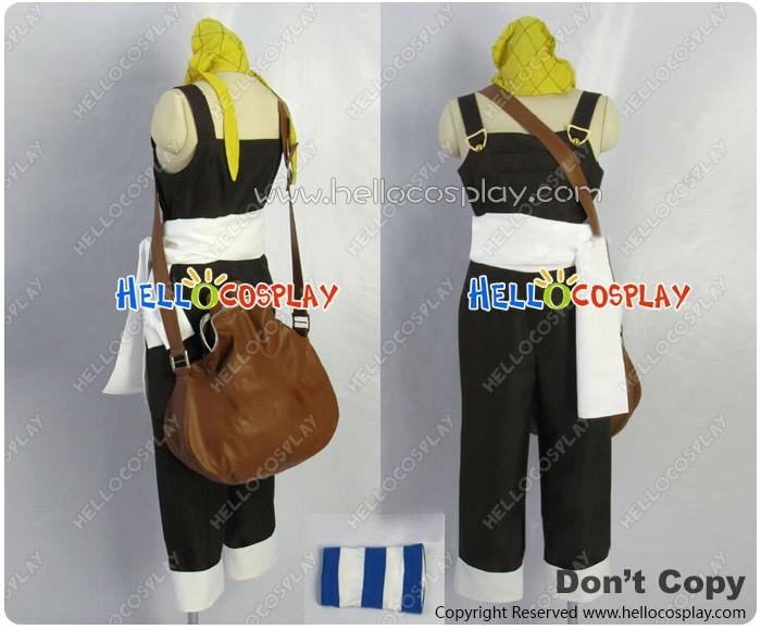 One Piece Cosplay Usopp Usoppu Bib Overalls Costume Two Years Before