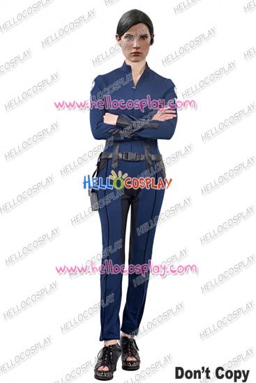 S.H.I.E.L.D. Maria Hill Cosplay Costume Jumpsuit