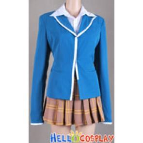 Rosario + Vampire Moka Akashiya Cosplay Costume Uniform
