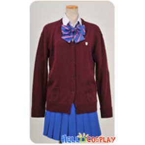 Macross Frontier Hybrid Pack Cosplay Ranka Lee Uniform Costume
