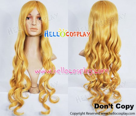 Bleach Cosplay Rangiku Matsumoto Wig