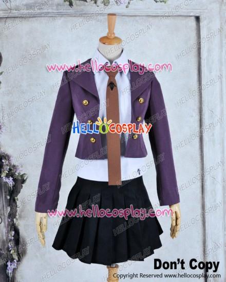 Danganronpa Cosplay Kyōko Kirigiri Kyouko Costume Uniform