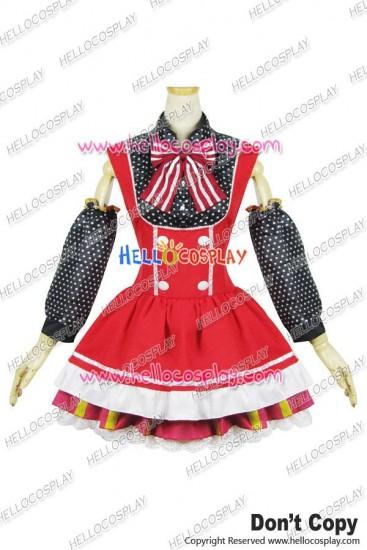 Love Live Cosplay Maki Nishikino Maid Dress