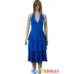 Tailor Made Twilight Bella Swan Blue Prom Dress Costume