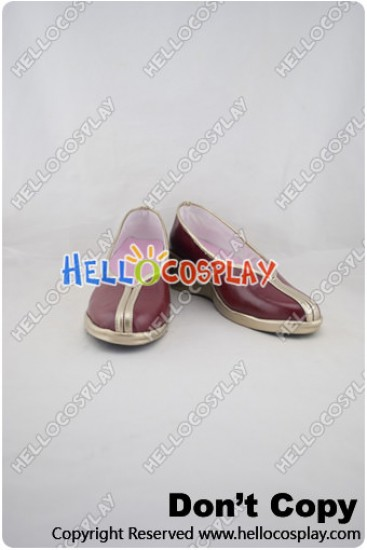 League Of Legends Fire Fox Cosplay Shoes