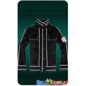 Sword Art Online Cosplay Kirito Kazuto Kirigaya Daily Jacket Coat Costume Size S