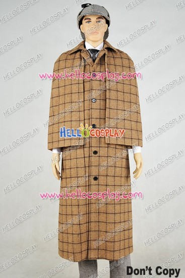 Doctor The Snowmen Sherlock Holmes Cosplay Costume