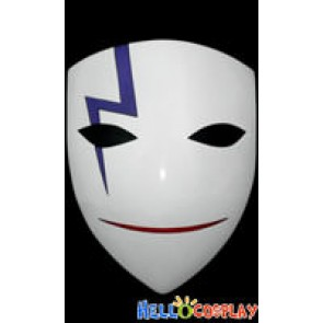 Darker Than Black Hei Lee Cosplay Smile Mask