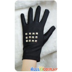 Danganronpa Cosplay Kyouko Kirigiri Accessories Rivet Gloves