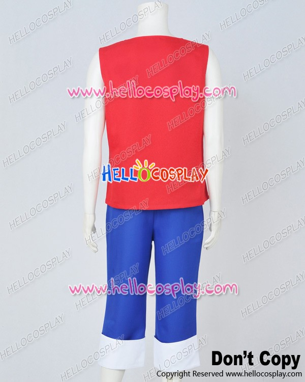 luffy red vest